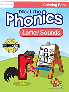 Meet the Phonics - Letter Sounds - Coloring Book