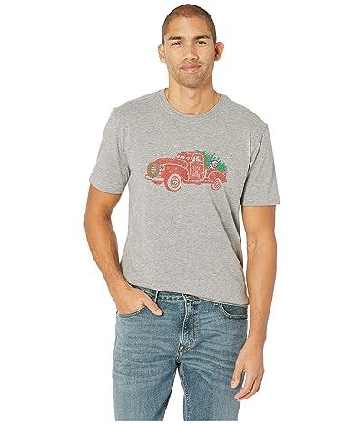 Life is Good Tis The Season Crusher T-Shirt (Heather Gray) Men