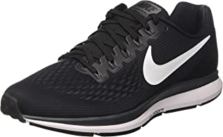 NIKE Men's Air Zoom Pegasus 34, Black/White-Dark Grey, 6.5 M US