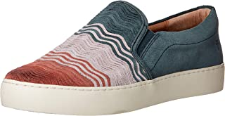Frye Women's Lena Wave Slip On Sneaker, Rosewood Multi, 8 M US