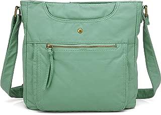 Scarleton Crossbody Shoulder Bag for Women, Ultra Soft Washed Vegan Leather, H1812