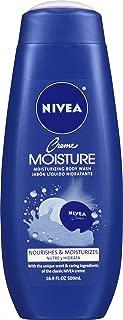 Nivea Creme Moisture Body Wash, 16.9 Ounce