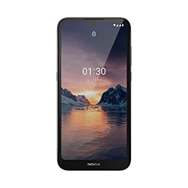 """Nokia 1.3 Fully Unlocked Smartphone with 5.7"""" HD+ Screen, AI-Powered 8 MP Camera and Android 10 Go Edition, Charcoal, 2020 (AT&T/T-Mobile/Cricket/Tracfone/Simple Mobile) (Renewed)"""