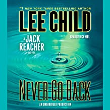 jack reacher never go back audiobook