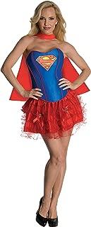 DC Comics Secret Wishes Supergirl Corset And Tutu Costume