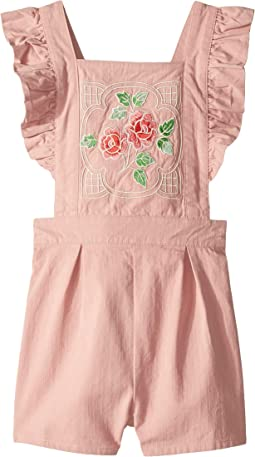 Pink Rose Romper (Toddler/Little Kids/Big Kids)