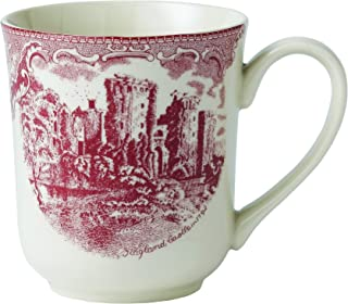 Johnson Brothers Old Britain Castles Pink Mug, 10 ounce by Johnson Brothers