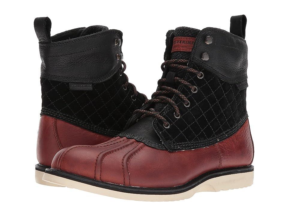 Wolverine Heritage Felix 6 Duck Waterproof Boot (Black/Brown) Men