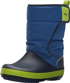 Crocs LodgePoint Snow Boot, Bottes de Neige Mixte Enfant