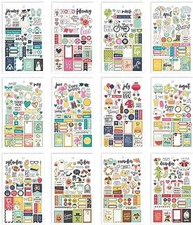 simple stories seasons sticker tablet