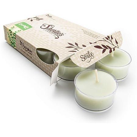Peppermint tea candle