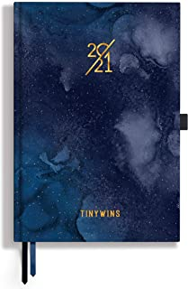 TINYCHANGE TinyWins 2021 Dual Schedule Planner: Plan Your Day, Achieve Goals, Manage Tasks and Balance All Life Priorities...