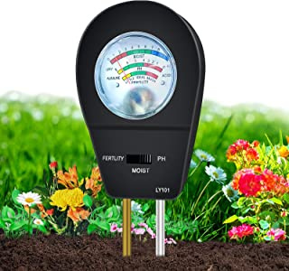 Sponsored Ad - KVISTER Soil Moisture Meter for Plants, 3-in-1 Soil pH Meter Plant Water Meter, Soil Tester for Plant Care,...