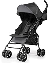 Summer 3Dmini Convenience Stroller, Gray – Lightweight Infant Stroller with Compact Fold, Multi-Position Recline, Canopy with Pop Out Sun Visor and More – Umbrella Stroller for Travel and More