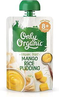 Only Organic Mango Rice Pudding 8+ Months - 120g