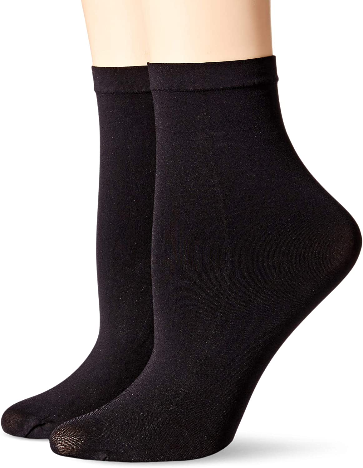 Hanes womens Hanes Perfect Socks Opaque Anklet