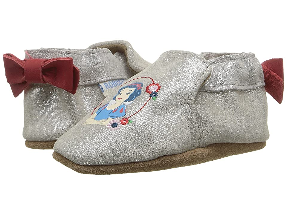 Robeez Disney(r) Baby by Robeez Snow White Soft Sole (Infant/Toddler) (Light Ivory) Girls Shoes