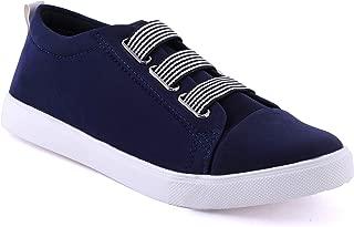 BUCADIA Men Fashion Outdoor Canvas Casual Light Weight Slip-On Evening Walk Running Shoe