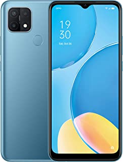 OPPO A15 - 6.5 inch, Dual sim, 32GB, Triple AI Camera Sim Free Android 10 Smartphone - Blue