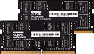 KLEVV ノートPC用 メモリ DDR4 2666 PC4-21300 4GB x 2枚 260pin SK hynix製 メモリチップ採用 KD44GS481-26N190D