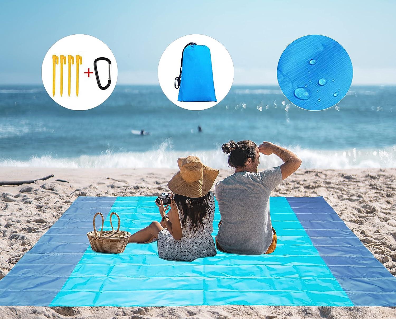 AHYUHA Beach Blanket sandless Oversized Water excellence Lightweight Japan Maker New Proof