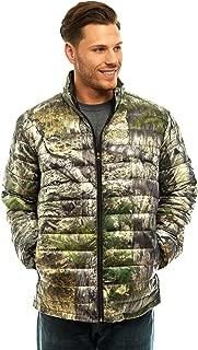 TrailCrest Full Sleeve Puffer Jacket for Men-Full Zipper, Lightweight, Mossy Oak