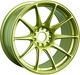 XXR 527 Gold Wheel with Painted (17 x 8.25 inches /4 x 100 mm, 25 mm Offset)