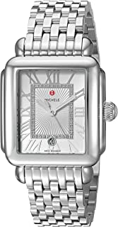 Best michele stainless steel watch Reviews