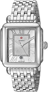 Michele Womens Deco Madison Diamond Dial Watch