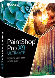Corel PaintShop Pro X9 Ultimate - caja de embalaje - 1 usuar