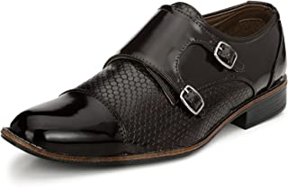Sir Corbett Men's Synthetic Monkstrap Formal Shoes