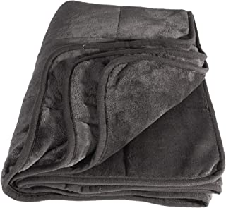 IdeaWorks Calming Adult Weighted Blanket - Cooling & Soft Weight Covers (50 x 75 inches, 20)