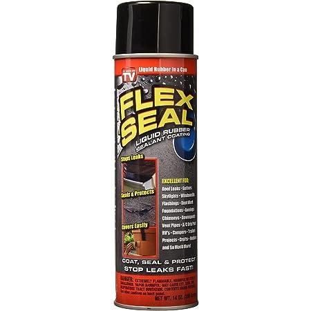 Flex Seal Spray Rubber Sealant Coating, 14-oz, Black