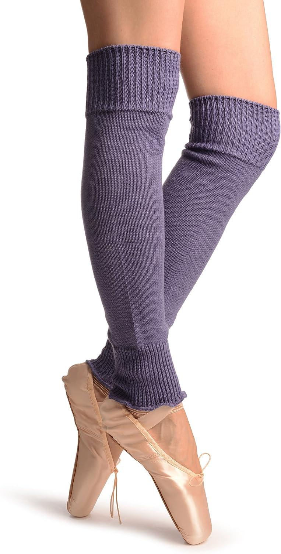 Heather Purple Plain Dance/Ballet Leg Warmers - Leg Warmers