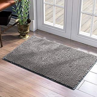 """HOMEIDEAS Super Absorbent Door Mat Indoor Non Slip 24""""x36"""" Low Profile, Dirt & Mud Trapper Inside Doormat Washable, Shoes ..."""