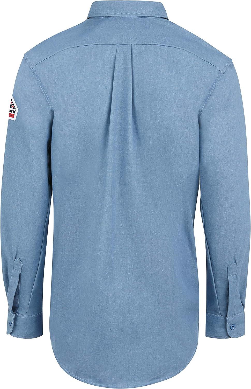 Bulwark FR Men's Midweight Fr Denim Dress Shirt