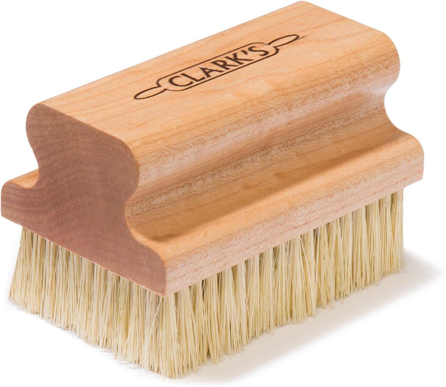 CLARK'S Max 86% OFF Large Scrub Brush Max 68% OFF Maple for Construction -