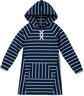 Girls' Hooded Sweatshirt Dress