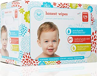 The Honest Company Baby Wipes,  Fragrance Free,  Classic,  576Count