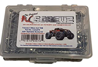 RCScrewZ Traxxas X-Maxx 4x4 TSM Ed. Stainless Screw Kit - tra076 - Traxxas Kit 77076-3 (325+ items)