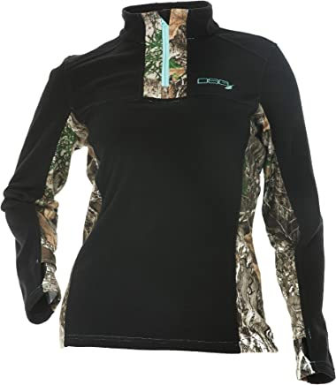200d8fed0d387 DSG Outerwear Women's Hunting Gianna Fleece Pullover with Realtree Edge Camo