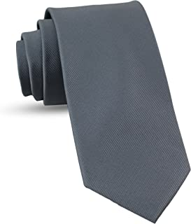 Handmade Ties For Men: Skinny Woven Slim Tie Mens Ties: Thin Necktie, Solid Color Neckties For Every Outfit