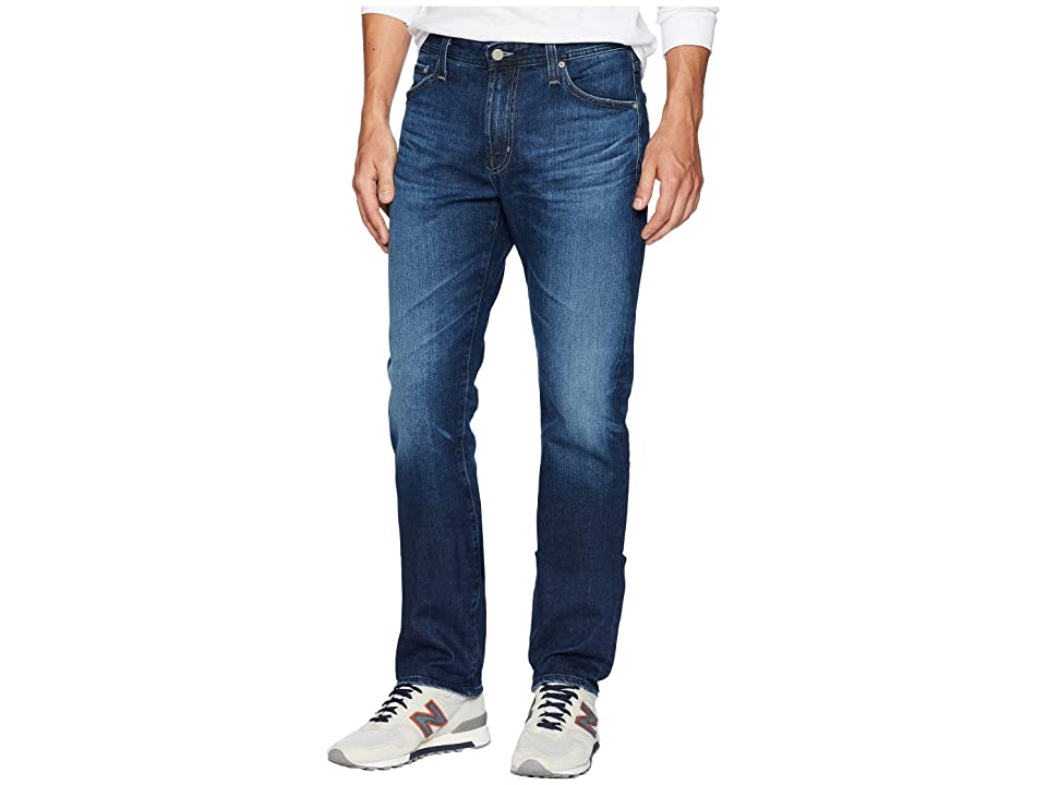 Image of AG Adriano Goldschmied Everett Slim Straight Leg Jeans in 6 Years Poet (6 Years Poet) Men's Jeans