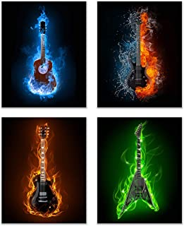Best electric guitar posters Reviews