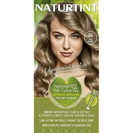 Amazon Com Phergal Naturtint Permanent Hair Color 8a Ash Blonde 5 28 Ounce Chemical Hair Dyes Beauty Personal Care