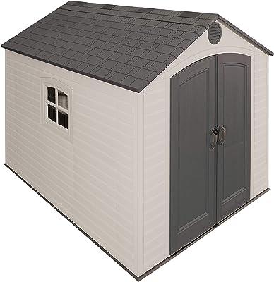 Habitat et Jardin - Caseta de metal para jardín, (5, 29 m²): Amazon.es: Jardín