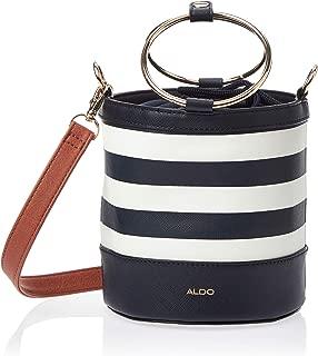 Aldo Bucket Bag for Women, Polyester, Navy and White - FERASSI8