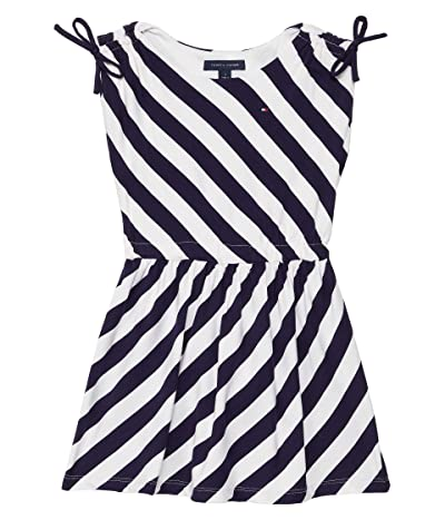 Tommy Hilfiger Adaptive Mikey Sleeveless Knit Dress with Elastic Waist and Wide Neck Opening