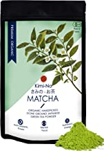 KimiNo Japanese Organic Matcha Green Tea Powder, 100g