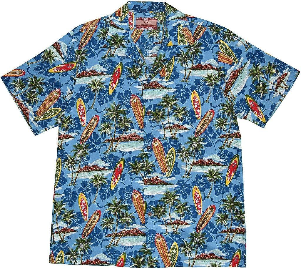 RJC Men's Surfing Diamond Head Hawaiian Shirt